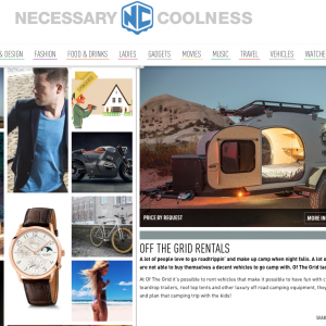 Necessary Coolness Article